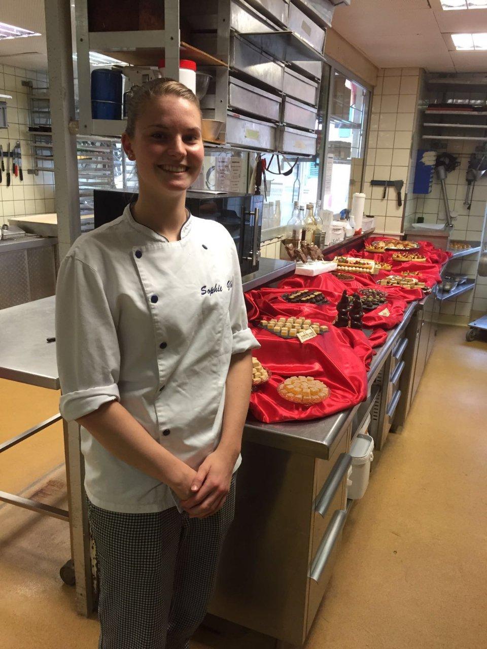 Examen de pâtisserie Sophie