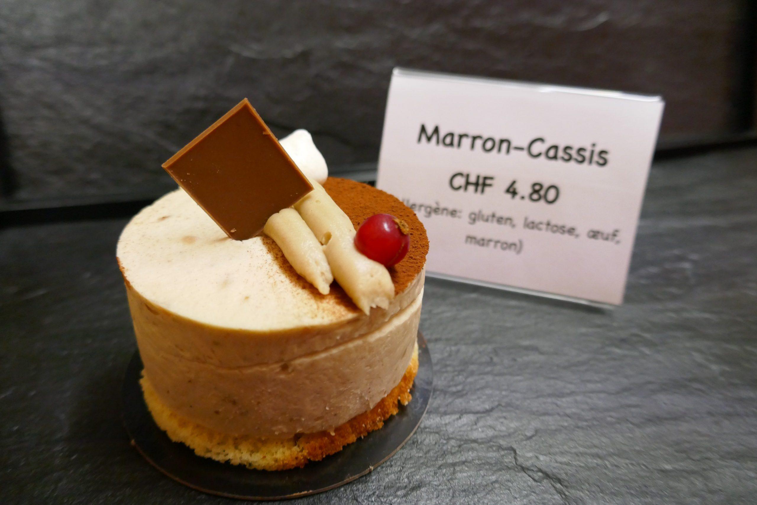 Mousse marron cassis