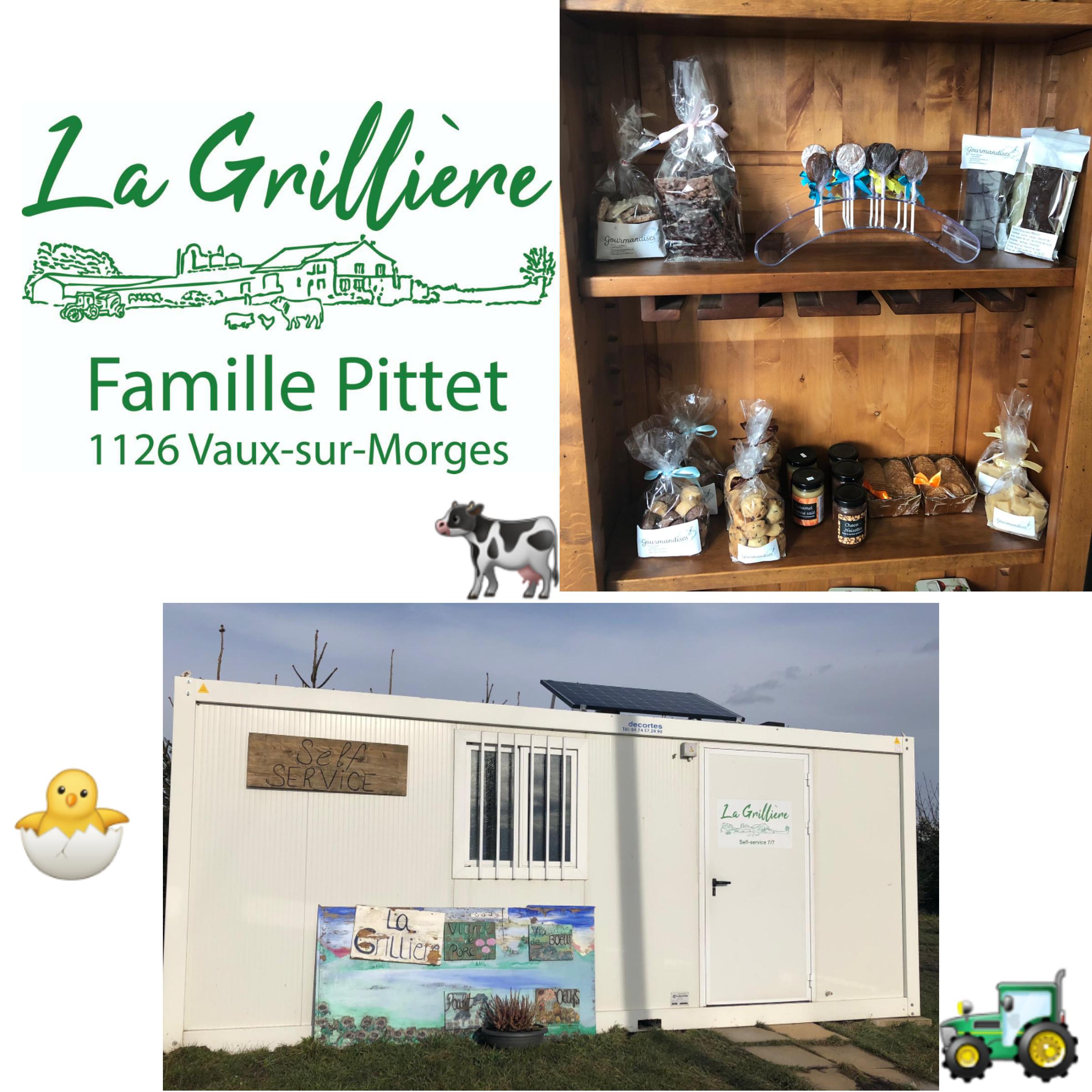 Collaboration avec le self de la ferme de la Grillière à Vaux sur Morges