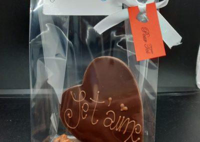 Montage chocolat St-Valentin