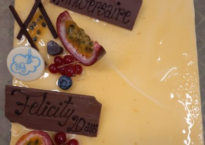 Mousse passion chocolat