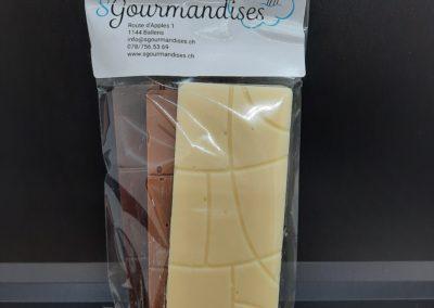 Plaques 3 chocolat
