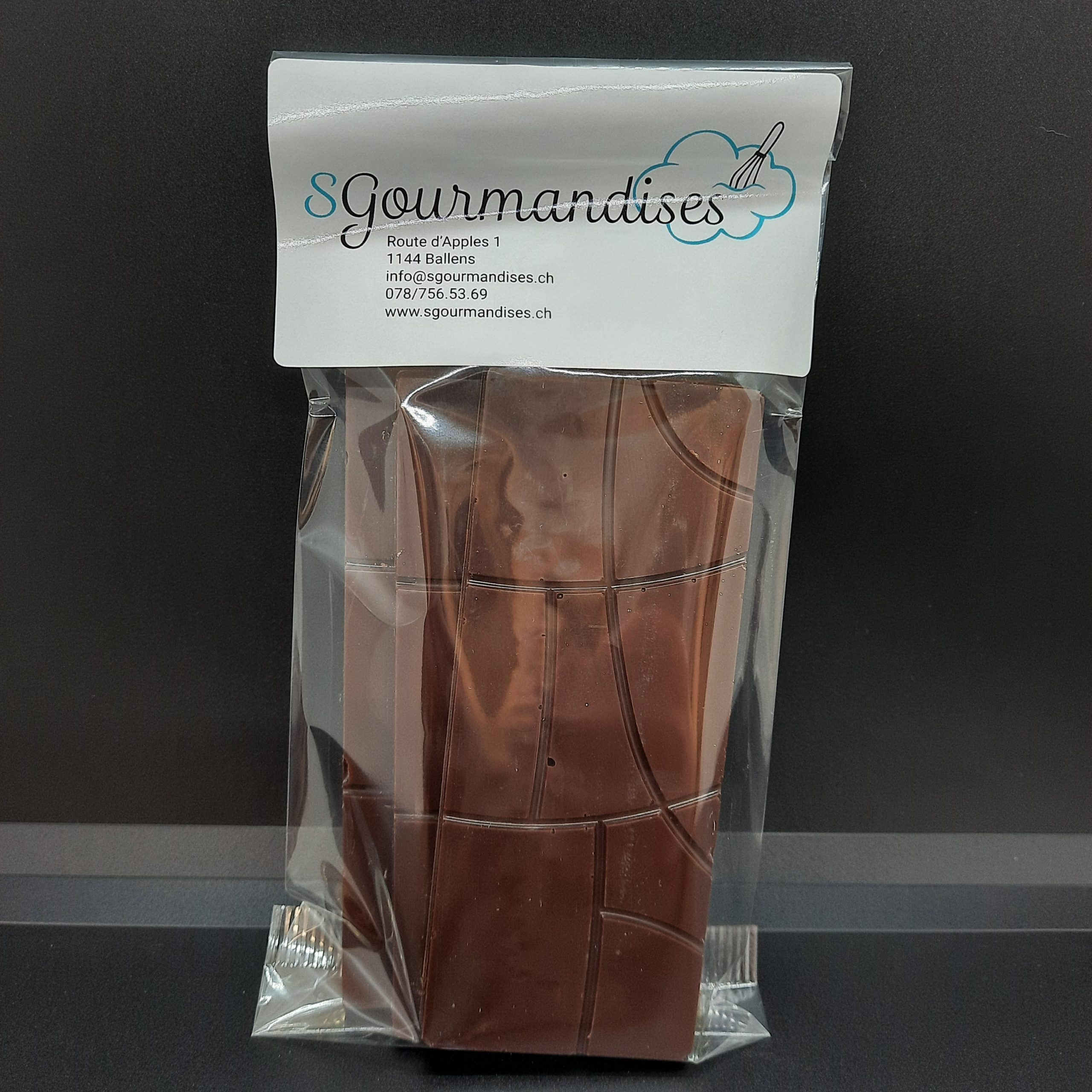 Plaques chocolat noir