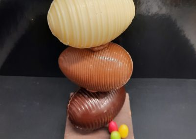 Oeuf 3 chocolat