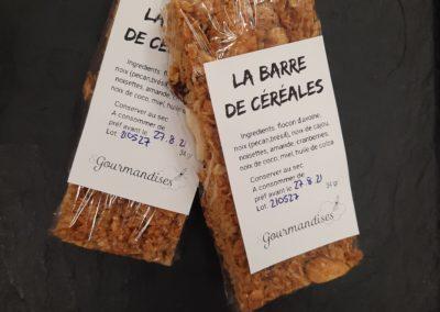 Barre Céréales
