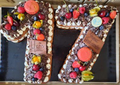 Number Cake 17