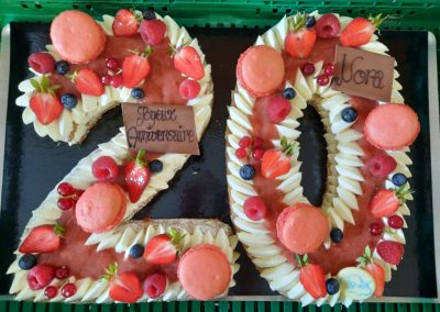Number Cake 20